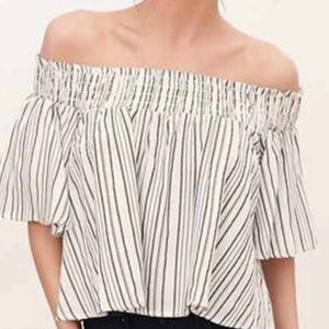 Kimchi brand, Urban Outfitters, off shoulder top